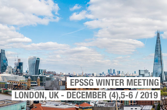 EpSSG WINTER LONDON MEETING 2019